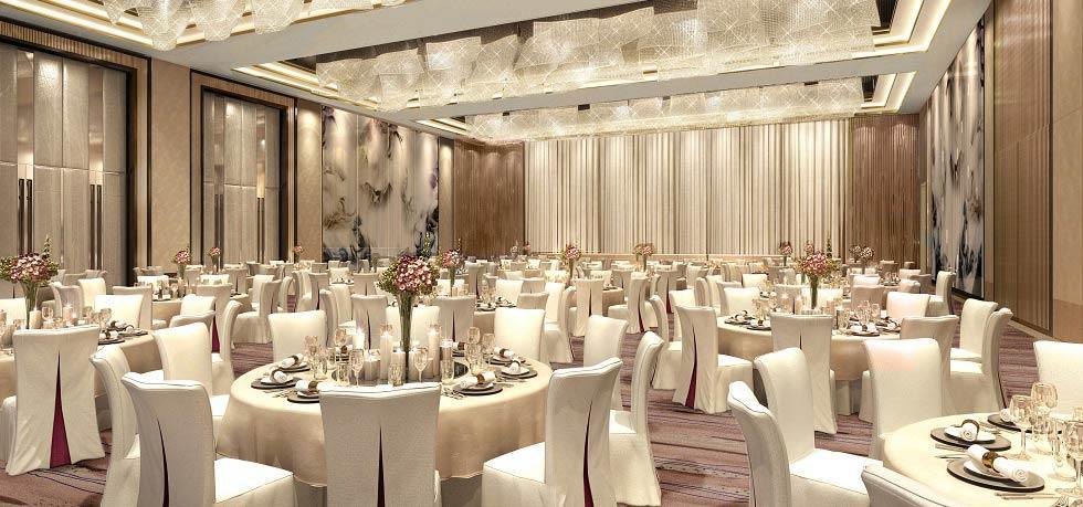 成都棕榈泉费尔蒙酒店室内装修设计效果图